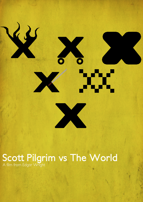Scott Pilgrim vs The World by elderpaper