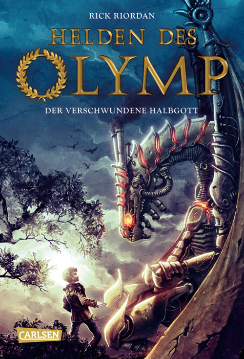 rrriordan:  German cover for The Lost Hero. Looks like the Germans are Team Leo!