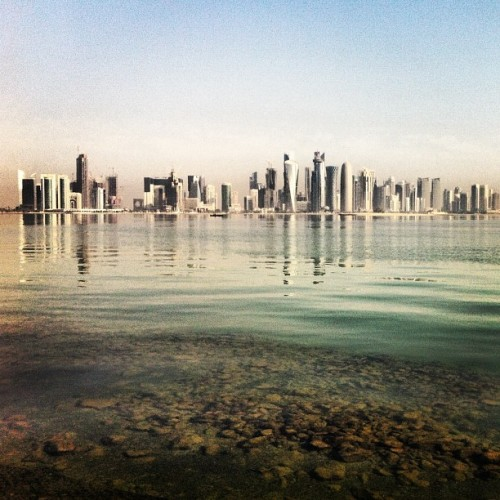 One fresh corniche morning #qatar  (at Corniche)