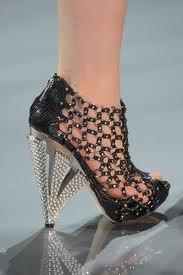 shoes runway shoes heels catwalk shoes furry interesting shoes fashion runway catwalk