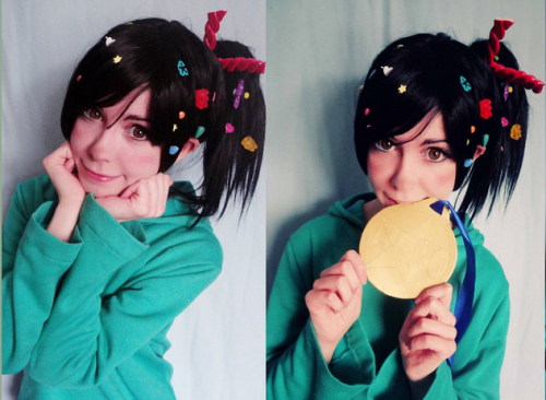 superpunch2:  Vanellope von Schweetz cosplay by Aleksandra Bodler.  omg so cute