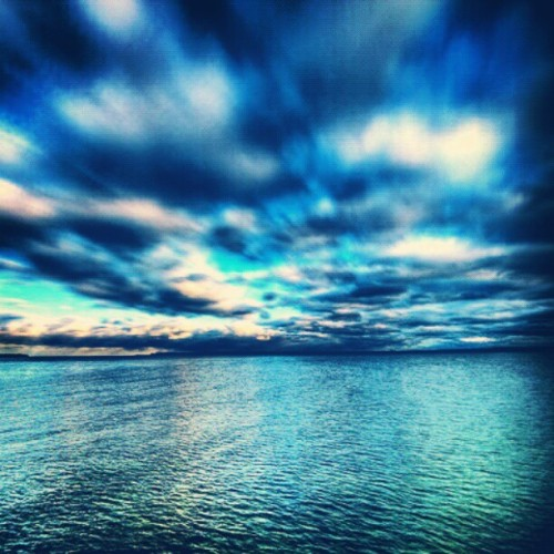 #ocean #pretty #sky #sunset #beach #blue #water #purple #beautiful #creation #nature #instagood #clouds #sea #shine