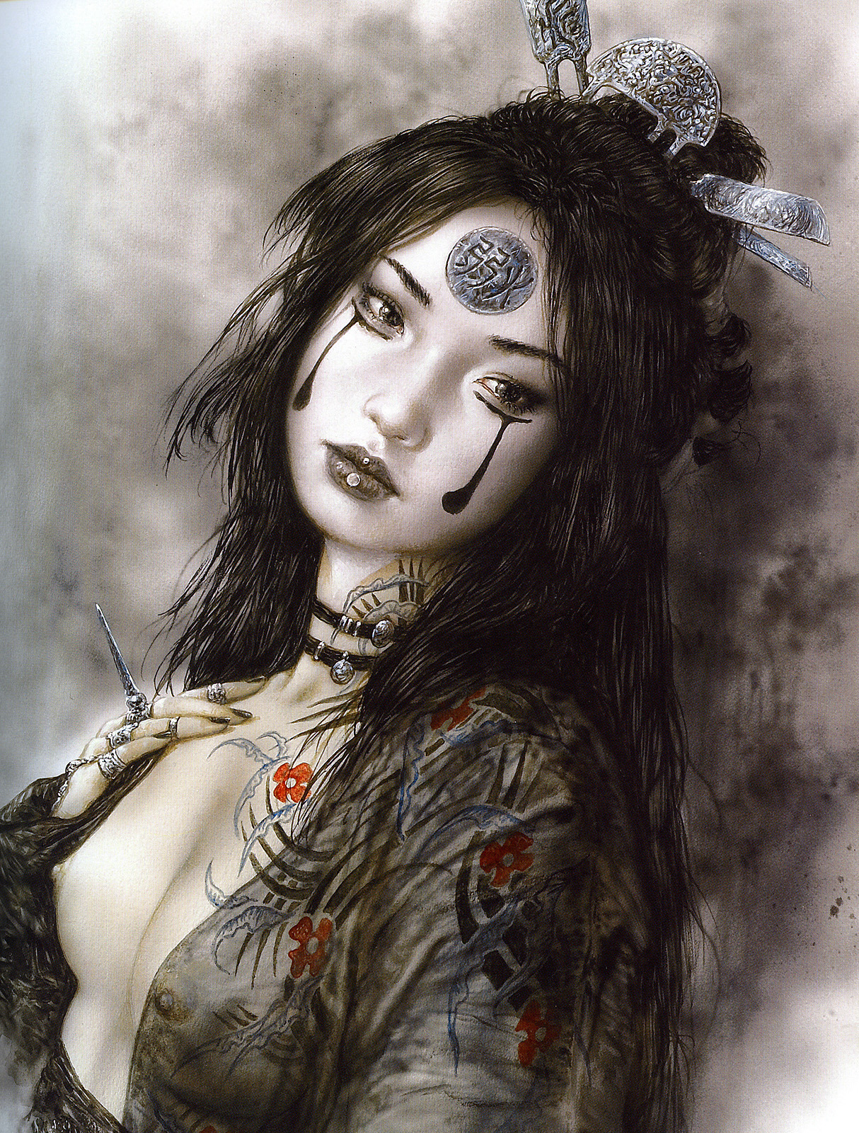 theedgeofthisworld:  by Luis Royo
