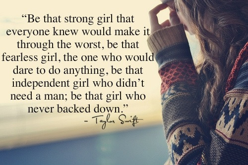 Best Taylor Swift quote