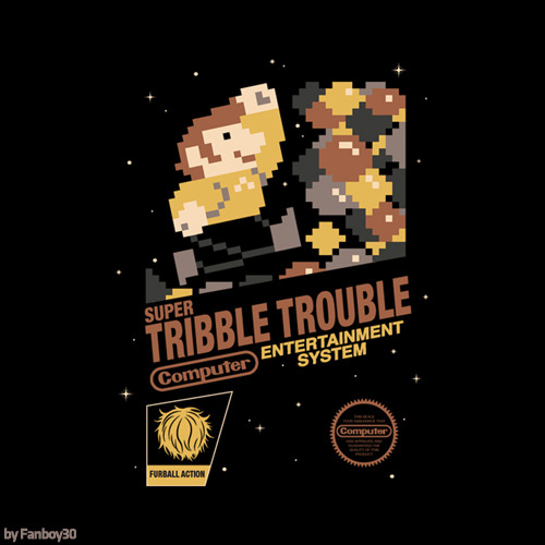 fanboy30:  Super Tribble Trouble by Fanboy30 on sale at Redbubble.