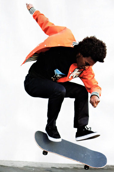 blackfashion:  Nakel Smith Skateboarder