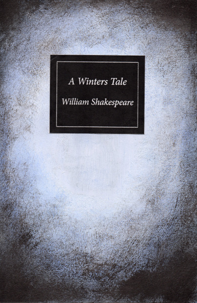 This is a cover I have designed for William Shakespeares A Winters Tale focusing purely on my use of colour. In this book cover design I used a dry paint brush to give a worn wiry texture.
