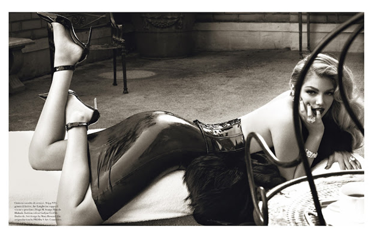 Vogue Italia | Kate Upton | Steven Meisel | November 2012