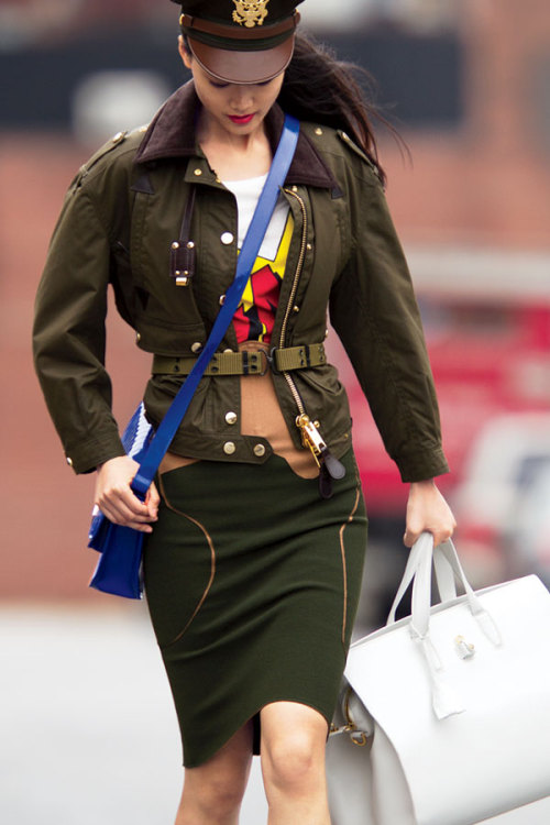 Trend alert: Check out our favorite military-inspired coats for winter »