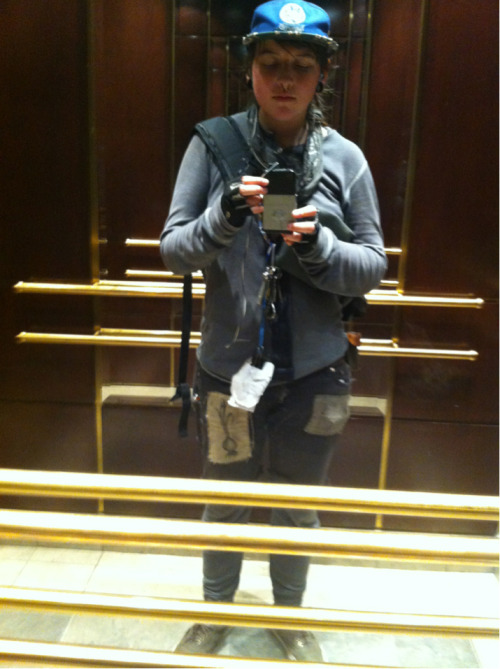 4ever taking photos of myself at work in elevators and forgetting about them   dreams of warmer weather