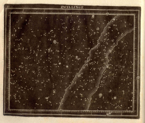 Christian Goldbach, 1799, constellation map
