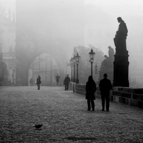 wrestling-with-death:  Charles Bridge, Prague