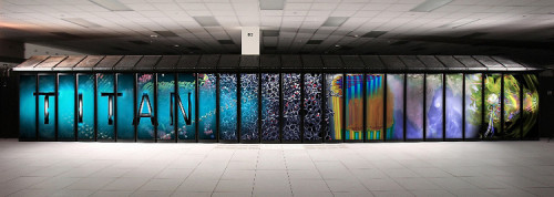 The new supercomputer Titan can zip through simulations of a nuclear reaction in a fraction of the time it used to take. It's much safer than testing new ideas for nuclear power in the real world.