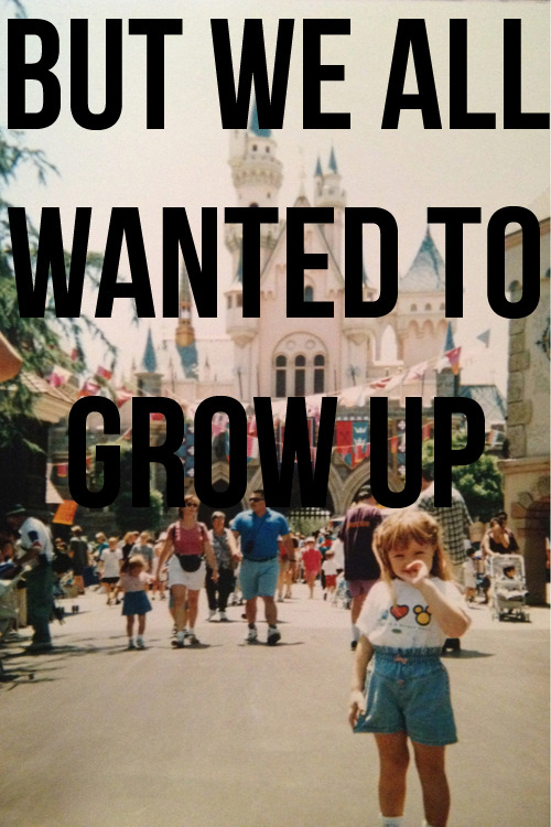 untied-dreams:  Damn… Sometimes I wish I could go back to when everything was simple I have less than 1 year left in college then its off to the real world. Sorta scares me/makes me nervous thinking about my future and what/where I'll be for the rest of my life…. But the other-side of me is so excited to actually begin life.