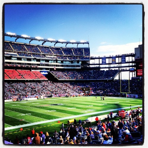 #GoPatriots! #Pats #NewEngland (at Gillette Stadium)