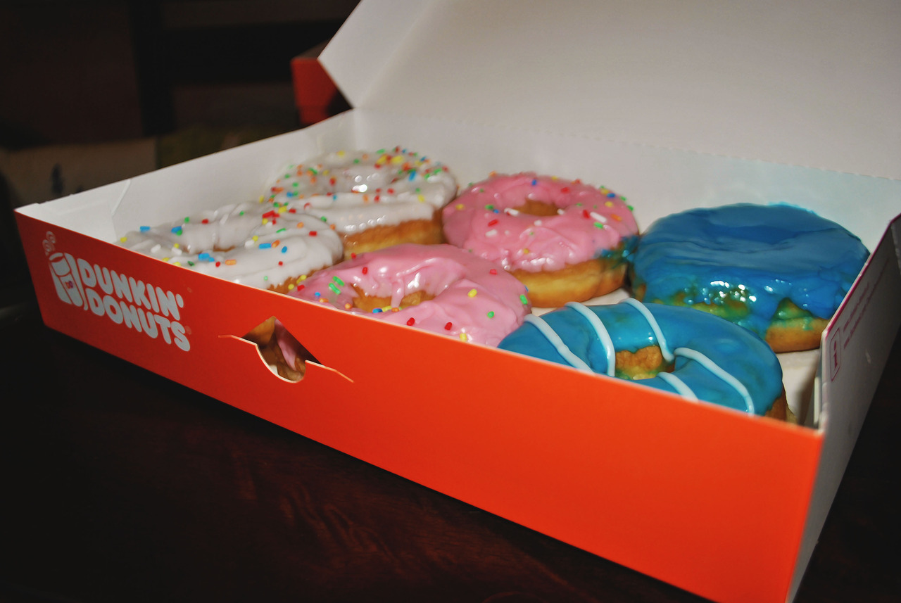 #dunkindonuts #donuts #tasty #delicious #colorful #food