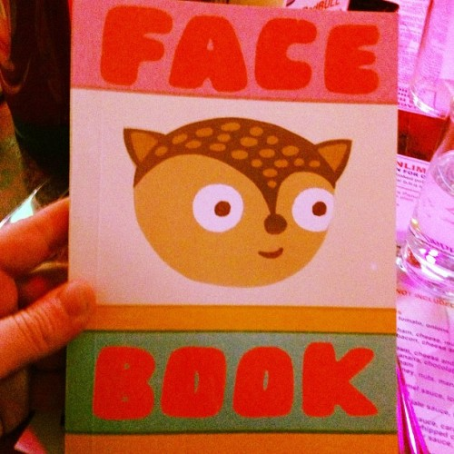 """A face on every page"""