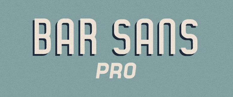 Experimenting with other weights of Bar Sans Pro. You can get the full family for free if you buy me a $3+ drink before it's finished or you can enjoy the current weight which will be free forever.