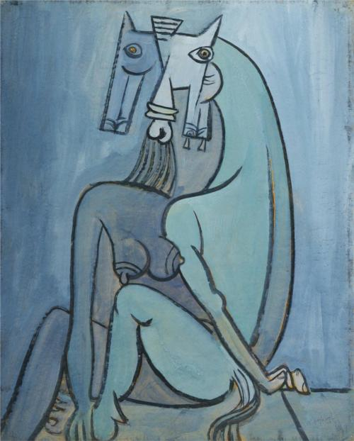 theories-of:  Wifredo Lam, Satan, 1942
