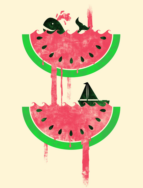 'Watermelon Falls' by Jonah Block