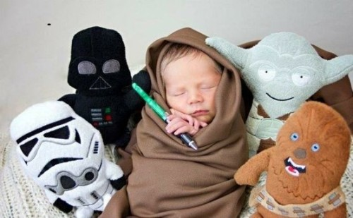 May the force be with you little one!