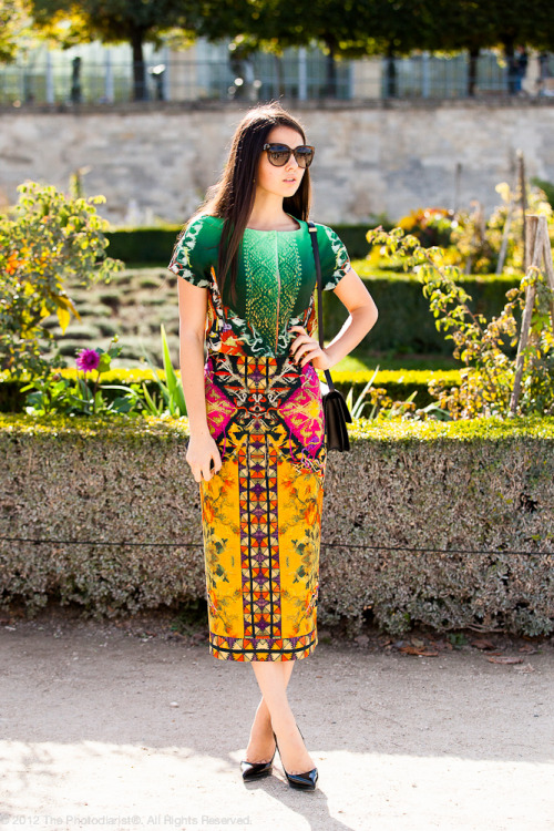 Paris Fashion Week S/S 2013: Multicolor