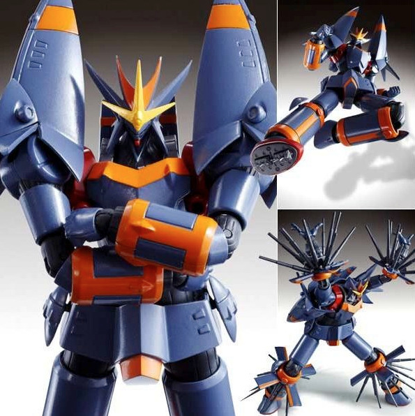 "Gunbuster Chogokin Figure Revoltech released a Gunbuster figure last year. And it was about time. After nearly 25 years since the anime premiered, there still weren't many quality figures based on the series' giant robot. Now Bandai are adding Gunbuster to their Super Robot Chogokin line. The 6"" figure will be released in March for $74. Preorder: Gunbuster Super Robot Chogokin Figure Peep it: Revoltech Review: Gunbuster"