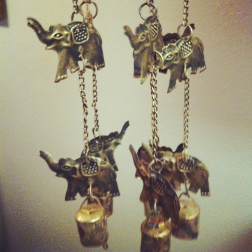 My favorite animal #elephants #windchime