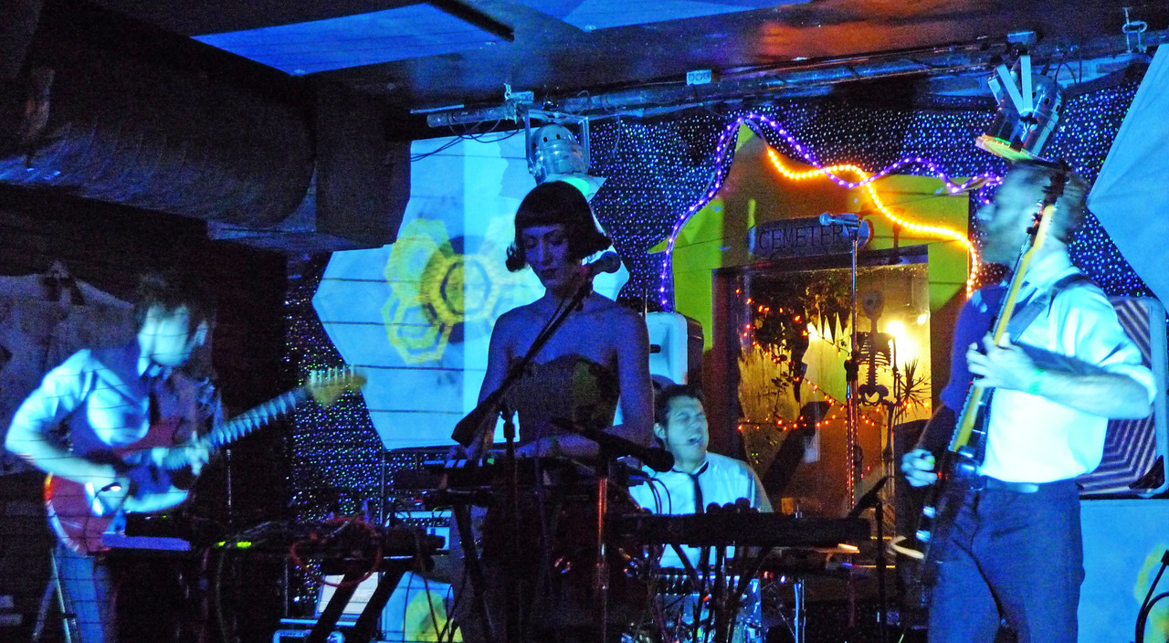 Austin, Texas's The Octopus Project at Bottom of the Hill. Review: So dope.
