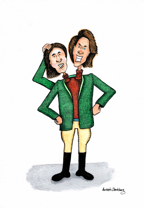 "Z is for Zaphod Beeblebrox My last Alphabooks entry is Zaphod Beeblebrox from the science fiction story ""The Hitchhiker's Guide to the Galaxy"" by Douglas Adams.And that concludes my 26 letter journey in the Alphabooks project. It has been a fun and enriching experience and I got to know a lot of book characters I didn't know before, and of course it was an excellent drawing training for me.PS: Don't forget to check the Alphabooks site to see everyone else's entries alphabooks.tumblr.com"