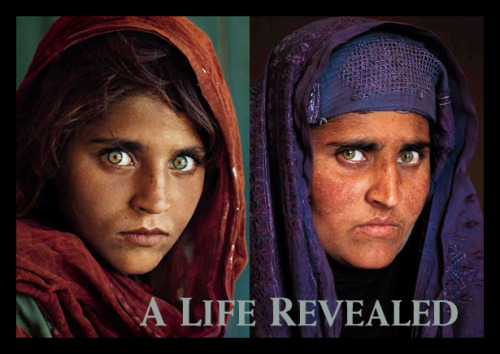 Steve McCurry meets the Afgan Girl again