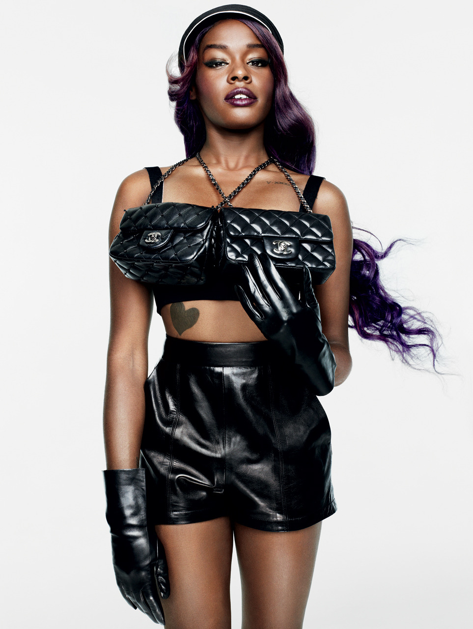 bohemea:  Azealia Banks: Girls of Now - V #80 by Sharif Hamza, Winter 2012