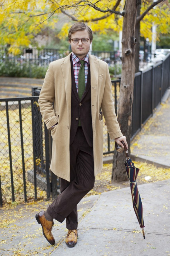 acuratedman:  Camel Topcoat via TSBMen.