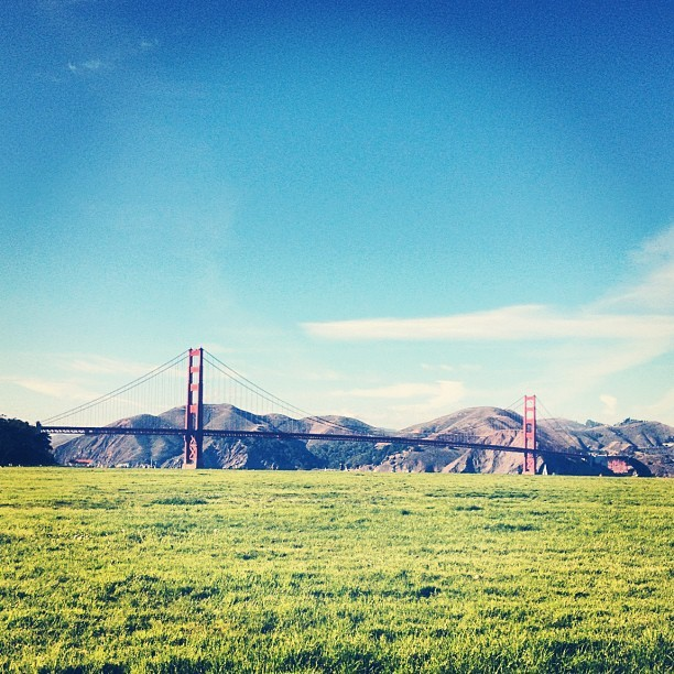 A gorgeous day in San Francisco.