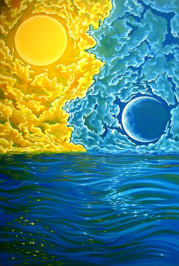 butterflieswhispertodeath:  Sun and Moon by Brian Jameson