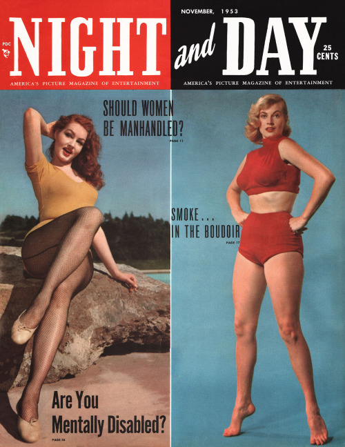 semioticapocalypse:  «Night and day» cover. November, 1953  [::SemAp::]