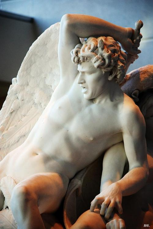 realmofspirits:  hasevonbastille:  Detail: The Rebel Angels. Salvatore Albano. Brooklyn museum of Art. NYC.  Beautiful.