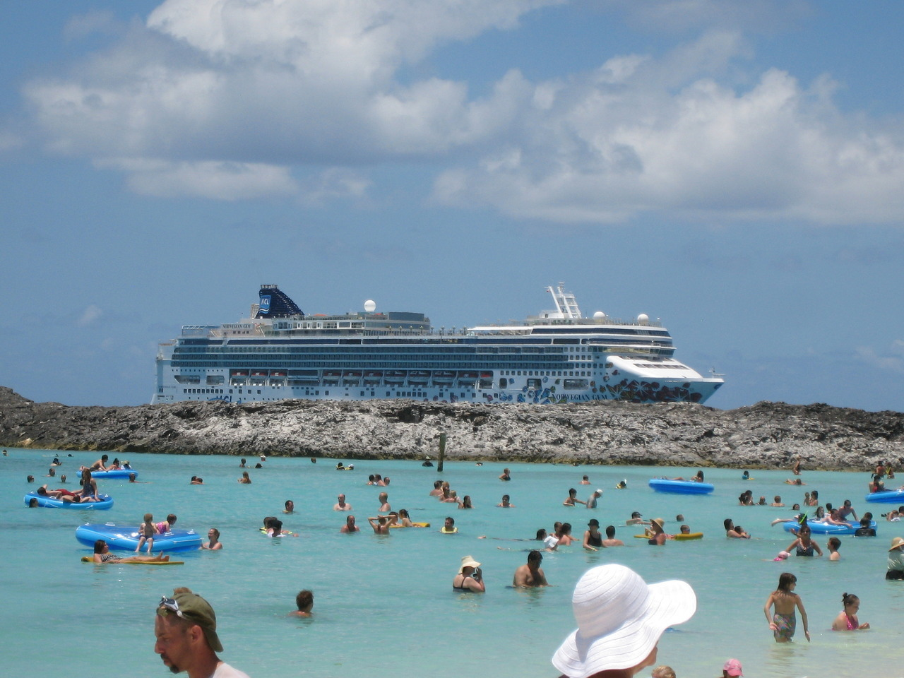 Norwegian Gem, Great Stirrup Cay, June 2012