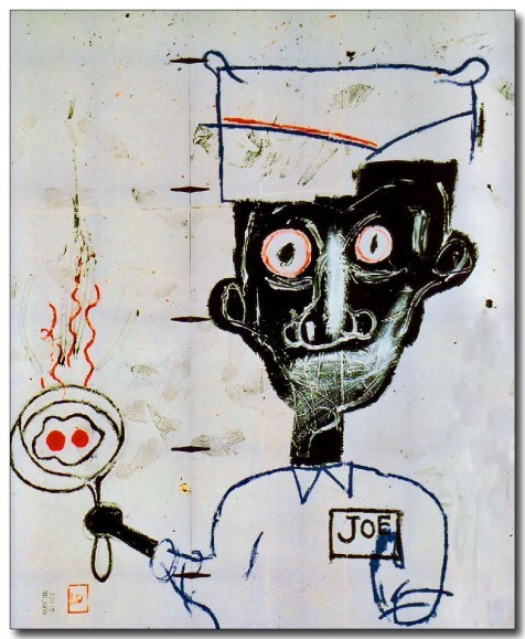 "Jean-Michel Basquiat ""Eggs and Eyes,"" 1983"