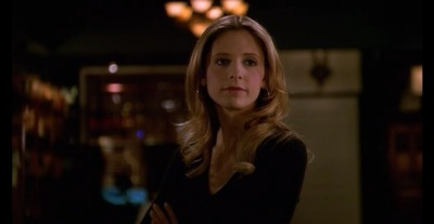 "Buffy Summers, the one and only Vampire Slayer, is pretty much my all time favorite female protagonist of anything I've seen on TV. While not a perfect character (and would you really want a perfect character? How boring would that be…), she constantly finds herself in situations that require leadership, action, and awareness. In Season 5, Episode 12, ""Checkpoint,"" she finds herself in an uncomfortable predicament; the Watcher's Council (aka the governing body for Slayers) has come back to Sunnydale because they have information on Glory (the Big Bad of Season Five) but first, she has to go through an internal review to see if she's up to their standards. At the end of the episode Buffy gives an excellent speech about power and how she isn't going to follow their rules; it is one of her greatest speeches in its sheer honesty and insight. In the speech she exhibits intuition, bravery, initiative, and influence - for knowing what the Council's real objectives were, for standing up to them, for defending her need for her friends, and for actually getting her way. Also, the part where she throws a sword at Nigel is pretty badass. See a transcript of her speech below, modified with some of the external dialogue excluded; the bolded parts are, in my opinion, the most pertinent to her style of leadership. Buffy: There isn't gonna be a review. […] No review. No interrogation. No questions you know I can't answer. No hoops. No jumps. […] No interruptions. See, I've had a lot of people talking at me in the last few days. Everyone just lining up to tell me how unimportant I am. And I've finally figured out why. Power. I have it. They don't. This bothers them. Glory came to my home today. […] Just to talk. She told me I'm a bug, I'm a flea, she could squash me in a second. Only she didn't. She came into my home, and we talked. We had what in her warped brain probably passes for a civilized conversation. Why? Because she needs something from me. Because I have power over her. You guys didn't come all the way from England to determine whether I was good enough to be let back in. You came to beg me to let you back in. To give your jobs, your lives, some semblance of meaning. Nigel: This is beyond insolence— (Buffy hurls the sword at him, which he must jump aside to avoid.) Buffy: I'm fairly certain I said no interruptions. […] You're Watchers. Without a Slayer… you're pretty much just watching Masterpiece Theater. You can't stop Glory. You can't do anything with the information you have, except maybe publish it in the Everyone Thinks We're Insanos Home Journal. So here's how it's gonna work. You're gonna tell me everything you know. Then you're gonna go away. You'll contact me if and when you have any further information about Glory. The magic shop will remain open. Mr. Giles will stay here as my official Watcher, reinstated at full salary [t]o be paid retroactively from the month he was fired. I will continue my work with the help of my friends—[…] two very powerful witches and a thousand-year-old ex-demon. […] ""The boy"" has clocked more field time than all of you combined. He's part of the unit. […] Now. You all may be very good at your jobs. The only way we're gonna find out is if you work with me. You can all take your time thinking about that. But I want an answer right now from Quentin. 'Cause I think he's understanding me. Quentin (after a pause): Your terms are acceptable. (The gang, watching from above, breaks into cheers and applause.) Buffy: See? No begging."
