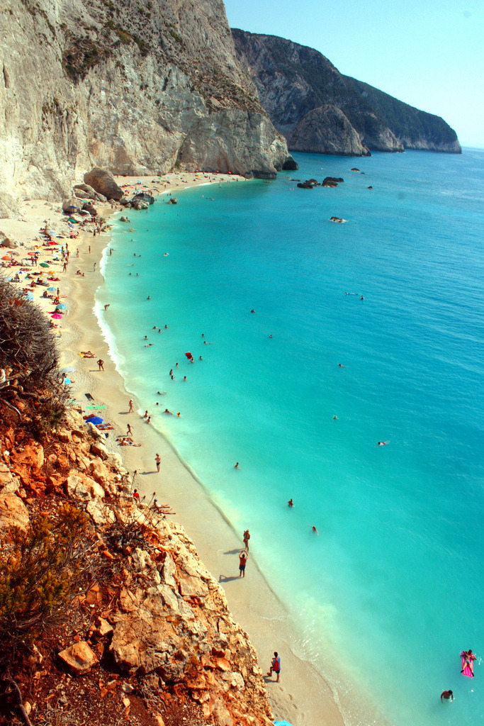 travelingcolors:  Porto Katsiki, Lefkada | Greece (by Elenilou)