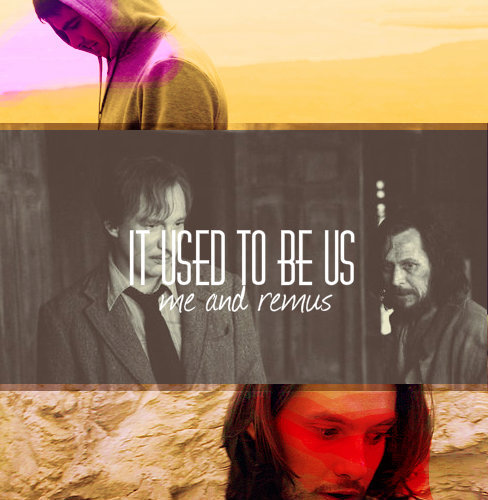 cautionsweetcheeks:   It used to be us… me and Remus...