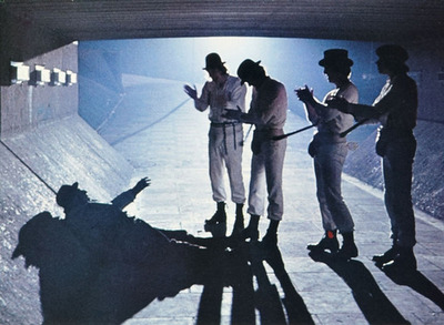 psychedelic-sixties:  A Clockwork Orange (1971) Directed by Stanley Kubrick