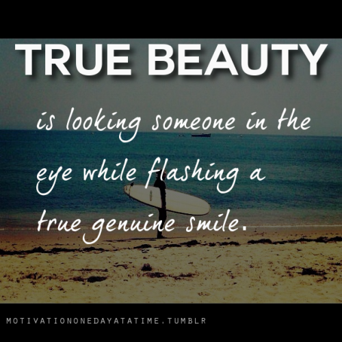 True beauty.