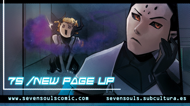 ENGLISH  |  ESPAÑOL  |  TWITTER  |  VOTE 7S webcomic update - mission 1 [page 17]