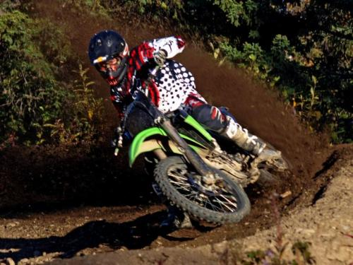 I never lose. I only run out of laps, gas, or time.   www.realmotocross.com