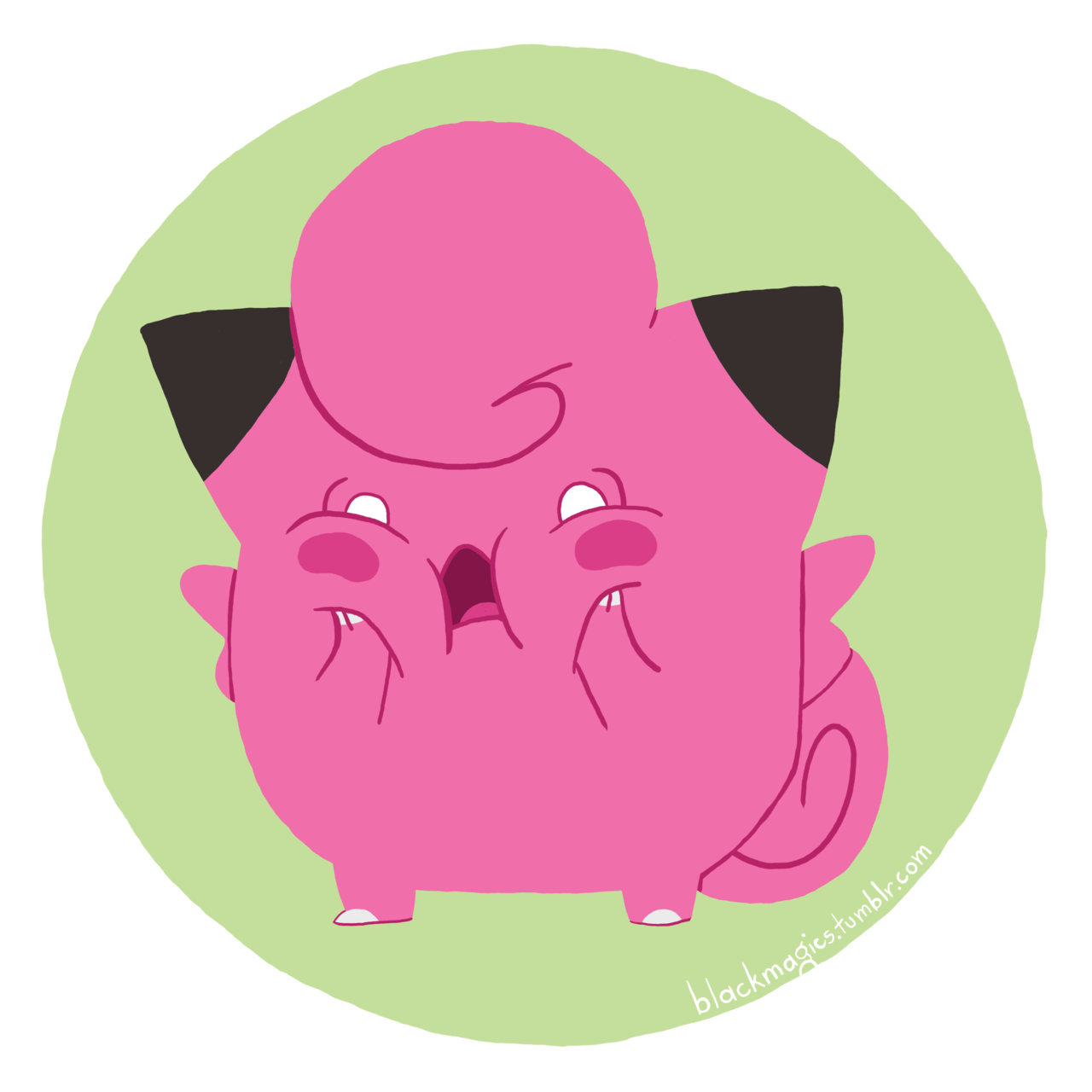 Calm the hell down, clefairy.  Buy this as a print