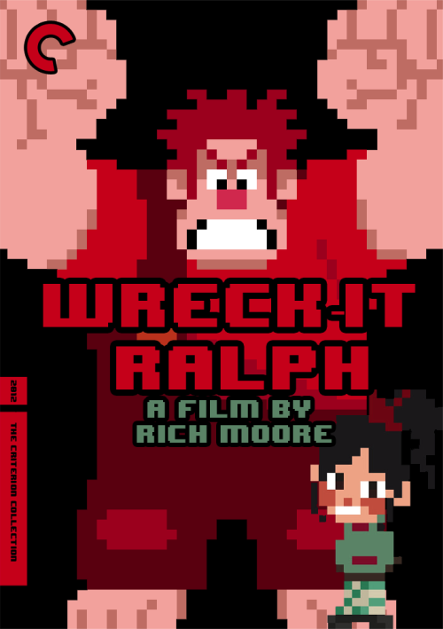 cyberghostface:  Wreck-It Ralph (2012) Dir. Rich Moore (8-bit Vanellope is from Talia at Sketch Club.)