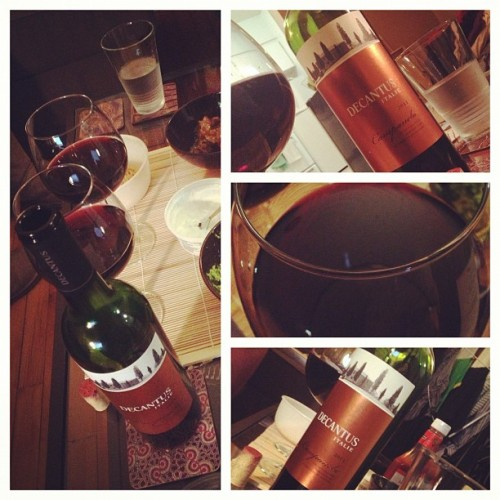 Decantus Campanela 2011 (Italy) w/ @starlexis #win #redwine #wine #vin #vino #wineporn #winegasm #rouge #red #alcohol #quebec #canada #montreal #italy #italie #italian #italien #dinner #food #foodporn #foodgasm #foodpicsbruh #fall #autumn #november #glass #gorgeous