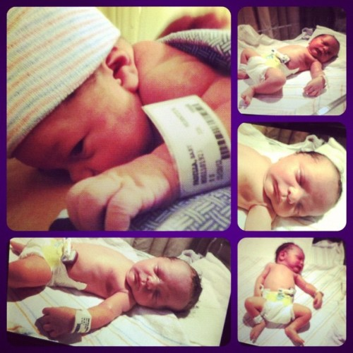 My cousin Tori just had her baby!!! Aw now Christian is a big brother <3 <3 I can't wait to cuddle the little lady and give her lots of loves. I know Bug will be excited to see both her cousins.